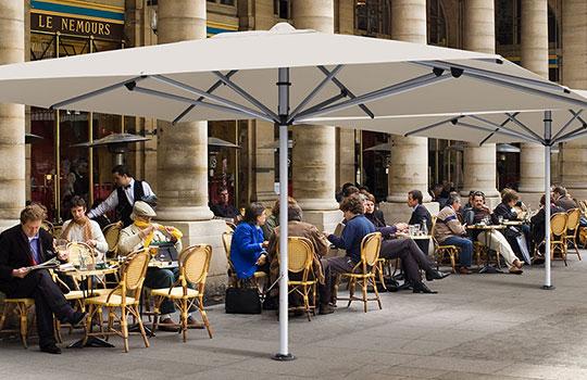 Commercial Centre Pole Umbrellas