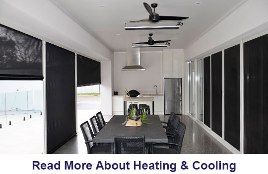 Infrared Radiant Heaters | Outdoor Ceiling Fans Adelaide