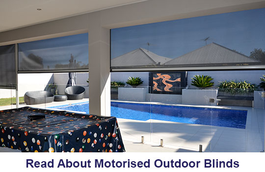 Motorised Outdoor Blinds Adelaide