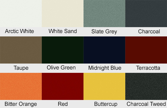 Shadowspec Multi Mast Canopy Fabric Colours