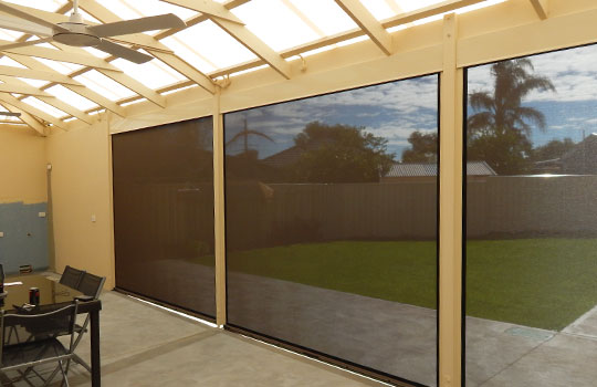 Alfresco Blinds Springfield | Outdoor Blinds Springfield