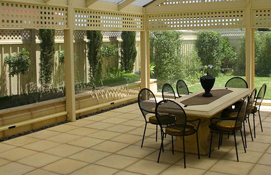 Café Blinds Clarence Gardens | Clear PVC Blinds Clarence Gardens | Ziptrak