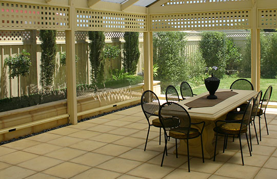 Café Blinds Colonel Light Gardens | Clear PVC Blinds Colonel Light Gardens | Ziptrak