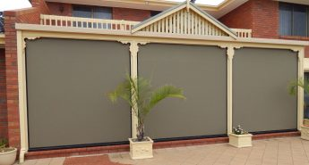 Outdoor Environshade Blinds West Lakes Shore