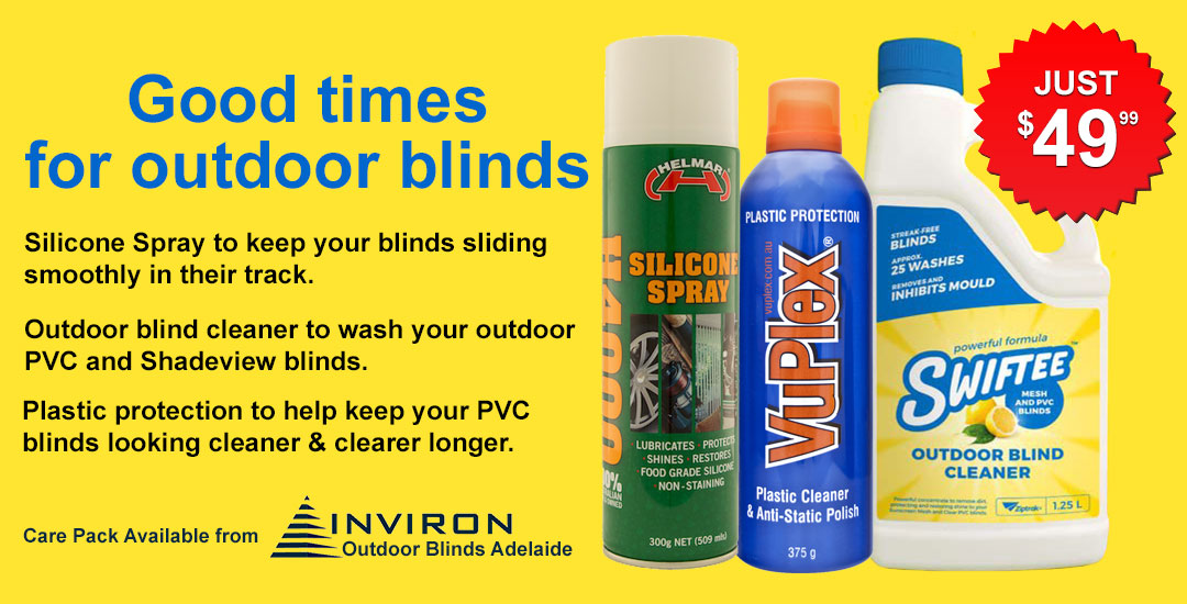 How To Clean Outdoor PVC Blinds | Ziptrak Blinds