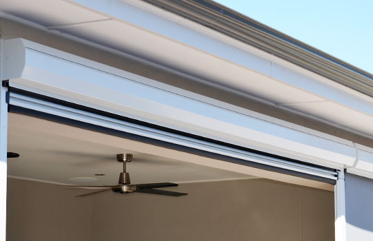 Outdoor Blinds Adelaide | Powder Coated Pelmets