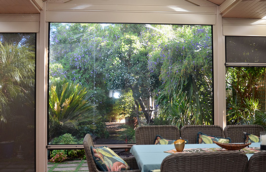 Clear Café Blinds | Outdoor Blinds Adelaide