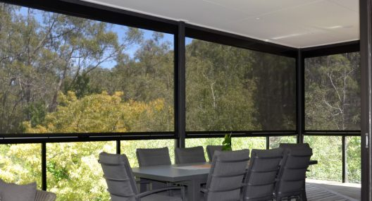 Windproof Outdoor Blinds Adelaide | Outdoor Shade Mesh Blinds