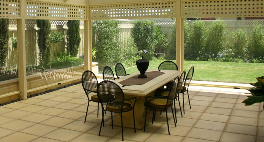Weatherproof Café Blinds Adelaide | Outdoor Blinds