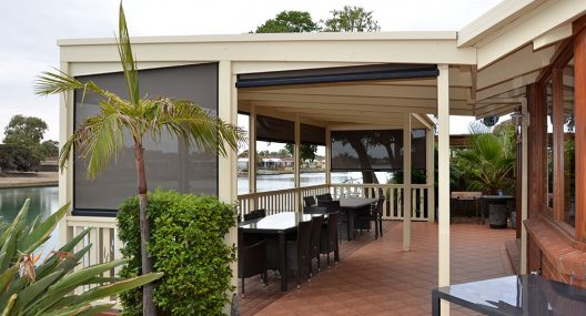 Outdoor Sun Shade Blinds Adelaide